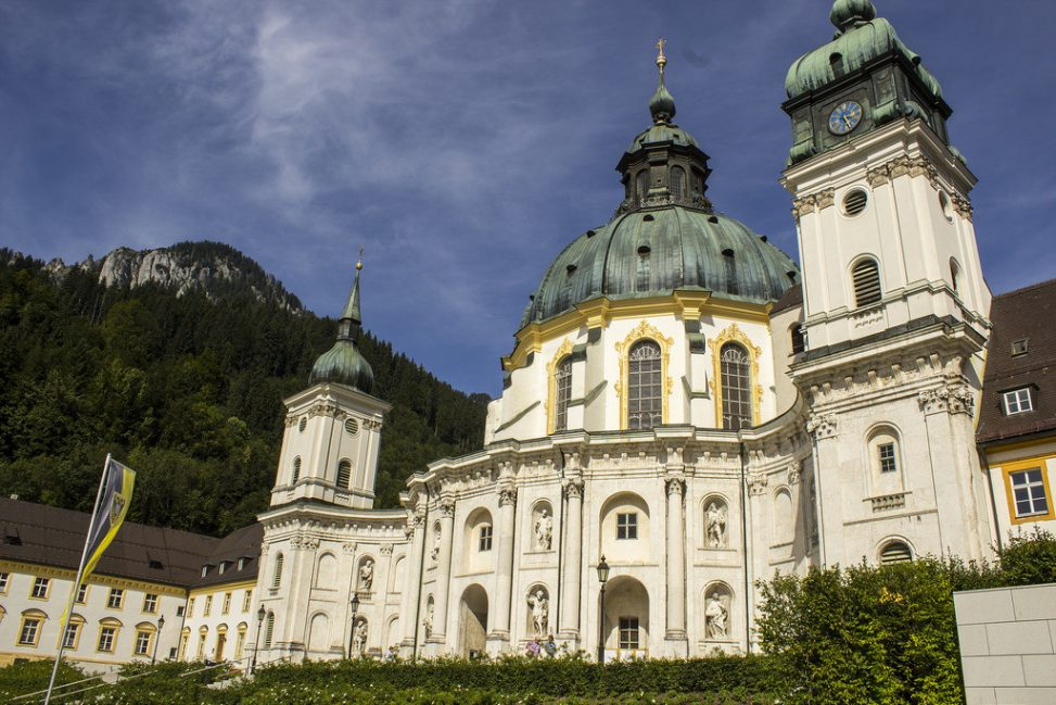 Kloster Ettal. Foto: Norbert Staudt. Lizenz: CC-BY-2.0