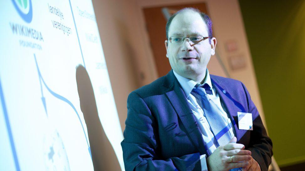 Ziko van Dijk bei der Wikimedia Conferentie Nederland 2012. Foto: Sebastiaan ter Burg, CC-BY-2.0