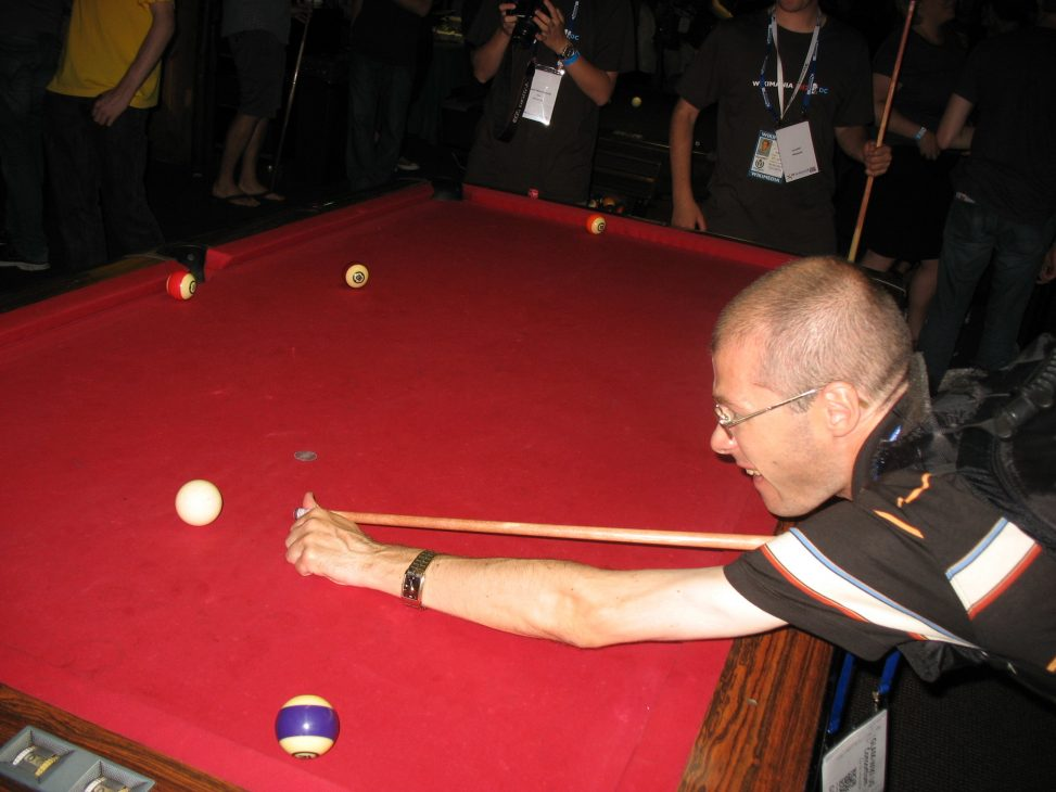 User:Dmitri Lytov at Buffalo Billiards, July 14