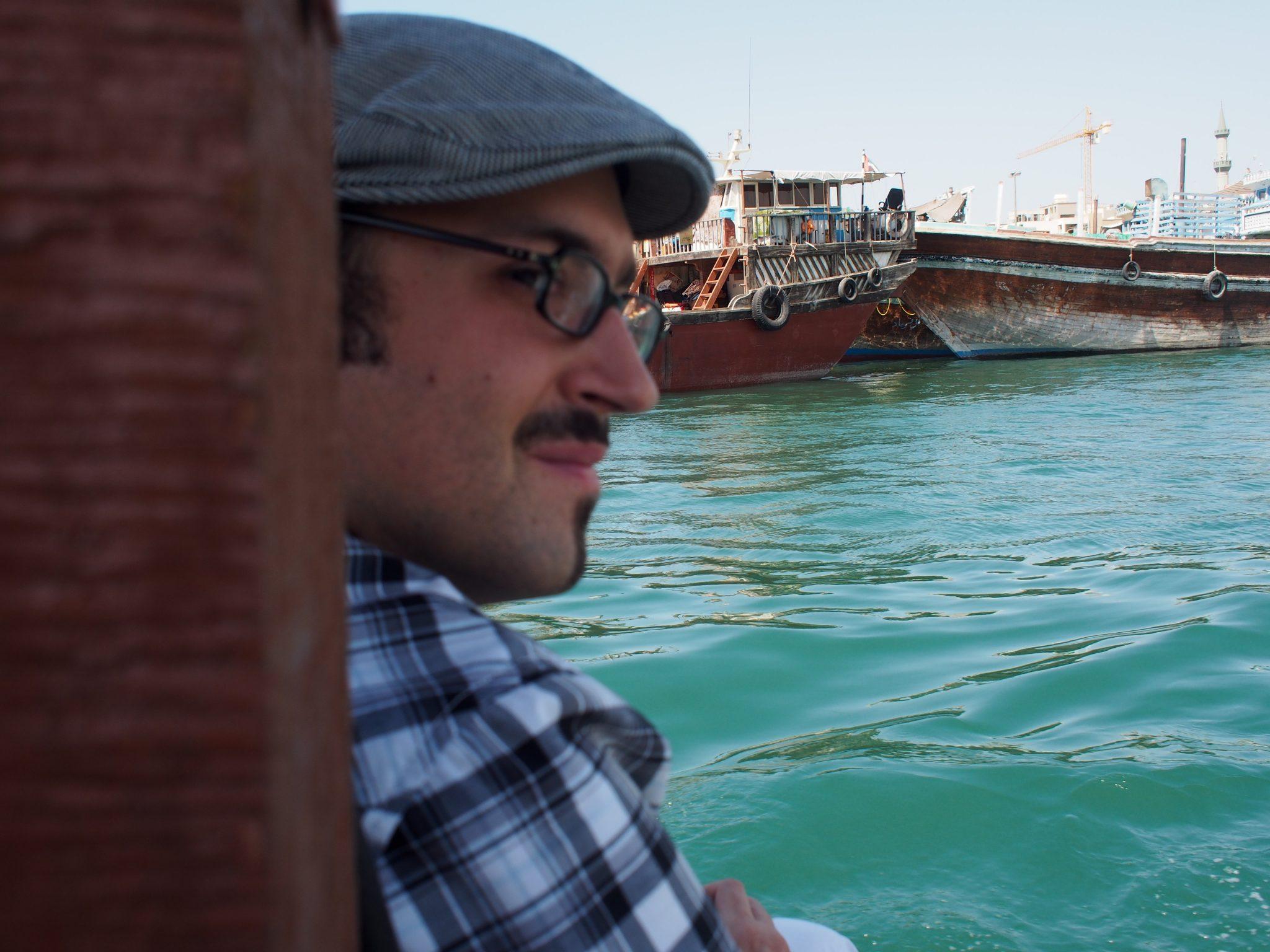 Micha L. Rieser 2013 in Dubai. Foto: Martin E. Walder. Lizenz: CC-BY-SA-3.0