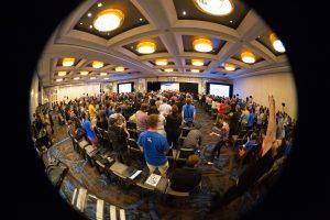 Wikimania 2017 Closing Ceremony. Foto: VGrigas (WMF). Lizenz: CC-BY-SA-4.0