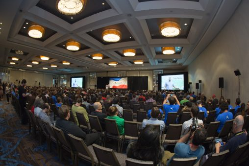 Wikimania 2017 Closing Ceremony. Foto: VGrigas (WMF) Lizenz: CC-BY-4.0