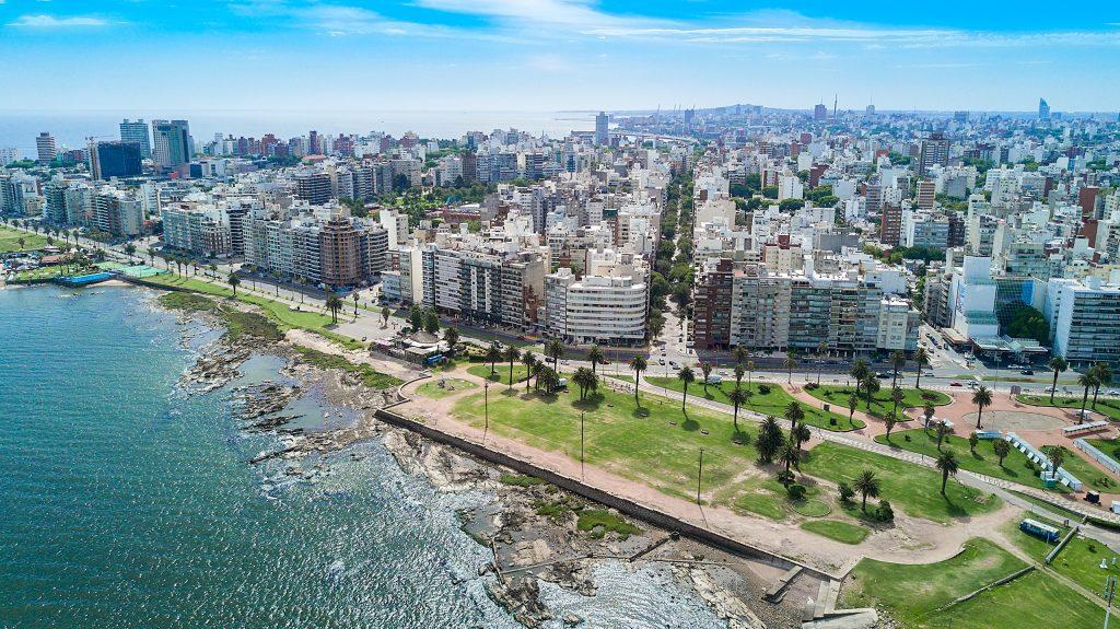 Ansicht der Stadt von Montevideo, Uruguay. Foto: Marcelo Campi. Lizenz: CC-BY-SA 2.0